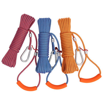 Portable No-Punching Clothesline Outdoor Camping Traveling Non-slip Hanging Rope
