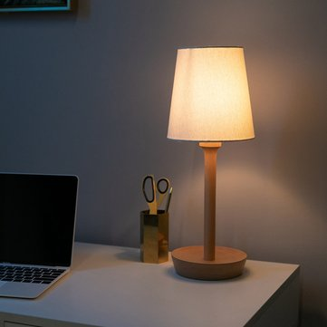 BelaDESIGN Wood LED Table Desk Lamp Adjustable Lampshade Stepless Dimming Reading Light from Xiaomi Youpin