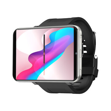 LEMFO LEM T 3G+32G 2.86 Inch HD Screen 4G-LTE Watch Phone Play Store 2700MAH GPS Wifi Smart Watch - Black