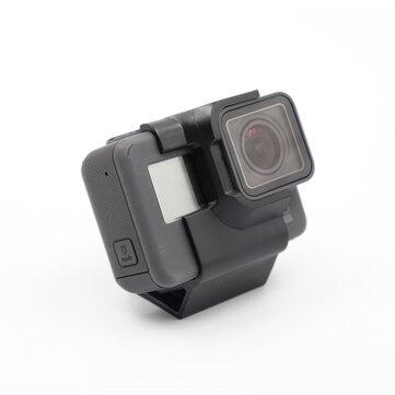 एक्शन कैमरा माउंट 30 डिग्री GoPro हीरो 5/6/7 सरीसृप CLOUD-149HD FPV रेसिंग ड्रोन आर सी एयरक्राफ्ट के लिए TPU FPV कैमरा ह