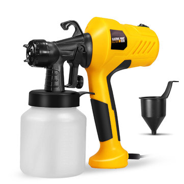 $23.99 for HILDA 220V 400W Electric Paint Sprayer with Adjustment Knob