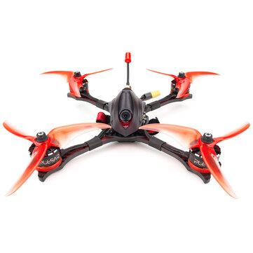 EMAX Hawk Pro 5 Inch 4S/6S FPV Racing Drone PNP/BNF F405 FC 35A Blheli_32 ESC Pulsar 2306 1700KV/2400KV Motor CADDX Ratel Cam 25-200mW VTX