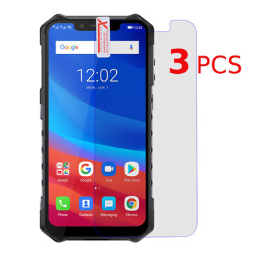 3pcs Bakeey Anti-Explosion Anti-Scratch Tempered Glass Screen Protector For Ulefone Armor 6 / Ulefone Armor 6E / Ulefone Armor 6S