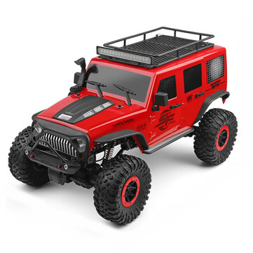 $73.79 for Wltoys 104311 1/10 2.4G 4X4 Crawler RC Car Desert Mountain Rock Vehicle Models With Two Motors LED Head Light