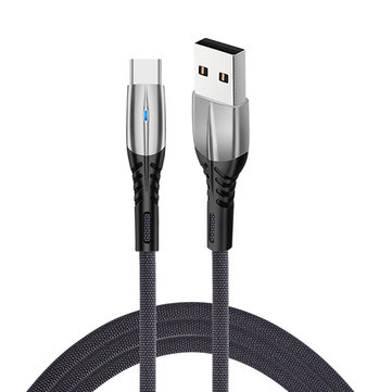 Bakeey 5A Type C Micro USB Indicator Fast Charging Data Cable For HUAWEI P30 Mate 20Pro XIAOMI MI8 MI9 Redmi 7A Redmi 6Pro OUKITEL Y4800