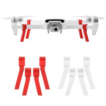 4PCS Shock Absorber Landing Gear Extended Heighten Foldable Leg Tripod for Xiaomi FIMI X8 SE