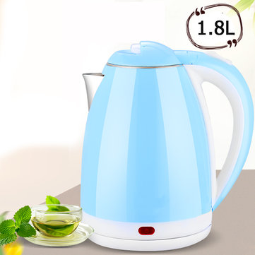 1.8L 1500W Electric Kettle Water Heater Boiler Stainless Steel Cordless Tea Kettle Water Kettle
