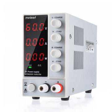 Minleaf NPS605W 110V or 220V 0 60V 0 5A Adjustable Digital DC Power Supply 300W Regulated Laboratory Switching Power Supply