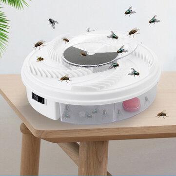 Elektrisk helautomatisk fällfångsenhet Insektsfangare Lågbrus roterande skadedjursavvisande