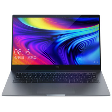 Xiaomi Mi Laptop Pro 15.6-Zoll Intel Core i7-10510 NVIDIA GeForce MX250 16 GB DDR4 RAM 1TB PCle NVMe SSD 100% sRGB Fingerprint Sensor Notebook