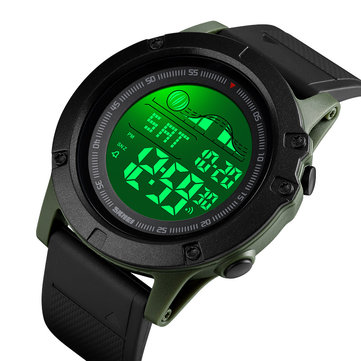 SKMEI 1476 Large Dial Multi-function Chronograph Alarm Outdoor Sports Waterproof Men Watch Digital Watch