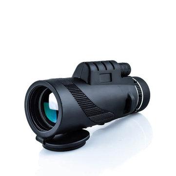 IPRee® 40x60 Monocular Optical HD 2000T Lens Telescope