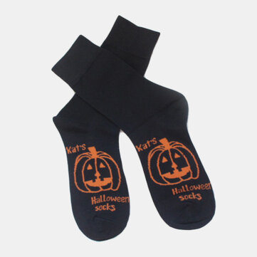 Buy Pumpkin Kate Halloween Casual Socks with Litecoins with Free Shipping on Gipsybee.com