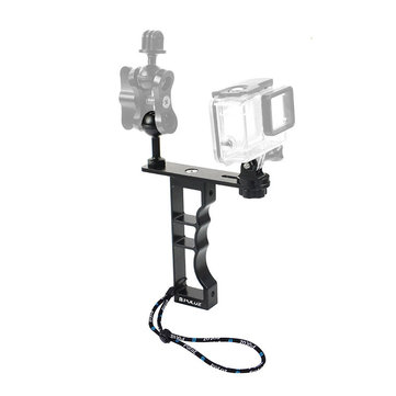 PULUZ PU246B Diving Video Light Stand Stabilizer Mount Holder for GoPro Hero DJI OSMO Pocket Action Sports Camera