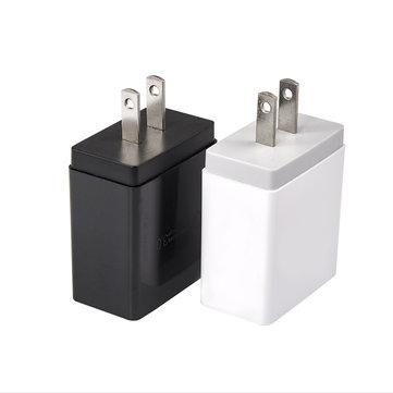 4 Port USB Charger Adapter Ponsel Perjalanan Cepat Pengisian Cepat EU UK US