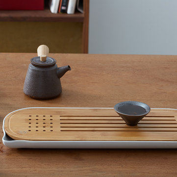 How can I buy CHENGSHE Bamboo Kungfu Tea Set Storage Type Tea Table Tray from with Bitcoin