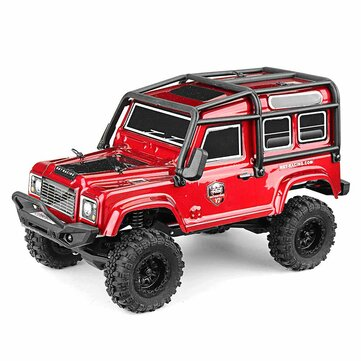 RGT 136240 V2 1/24 2.4G RC Car 4WD 15KM/H Vehicle RC Rock Crawler Off-road Two Battery