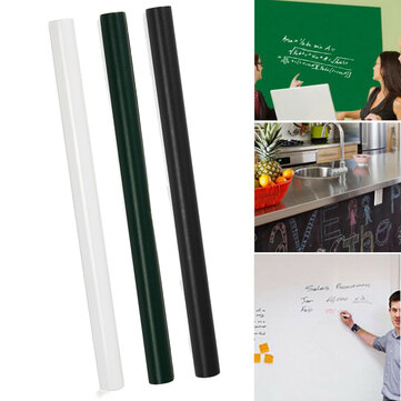 Buy 60 x 200CM PVC Removable Blackboard Stick Whiteboard Wall Sticker Vinyl Decal Free Pen with Litecoins with Free Shipping on Gipsybee.com