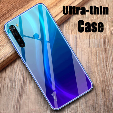 BAKEEY Transparent Ultra-thin Soft TPU Protective Case For Xiaomi Redmi Note 8