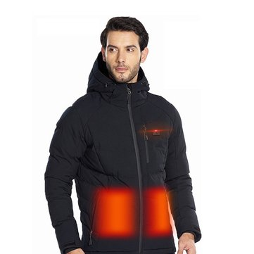 TENGOO Warm-A Intelligent Smart Heating Cotton Jacket 4 Zone Heating