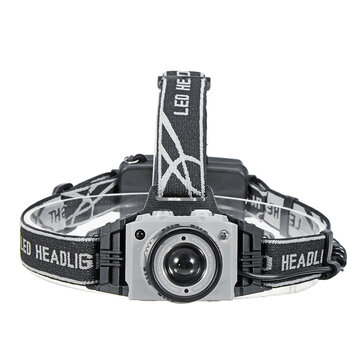 Buy  BIKIGHT 2404 650LM T6 Sensor Headlamp Headlight Zoomable USB Rechargeable Head Torch 18650 with Litecoins with Free Shipping on Gipsybee.com