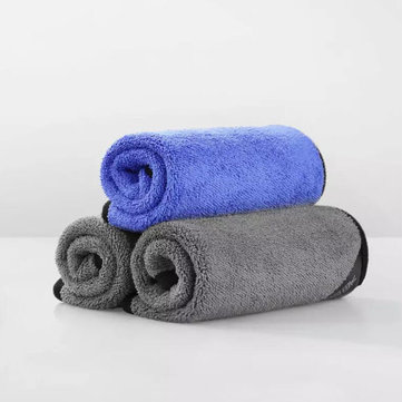 Xiaomi 3 Pcs 30x30/60cm Nano-fine Fibers Cleaning Towel Suede Thickening Car High Density Absorbent Soft Car Wash Rags