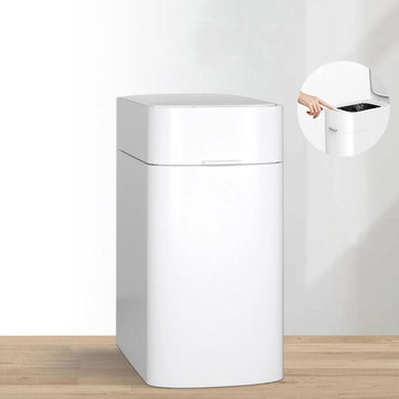 ZIPPING Intelligent Automatic Trash from Xiaomi Youpin Can 12L Capacity One-button Packaging IPX4 Waterproof Grade Waste Bins