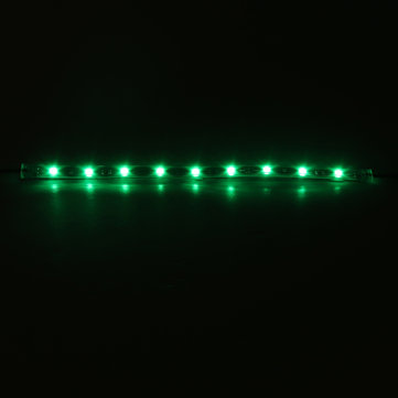 Buy 14Pcs 12 Inch Green 5050 126LED Slim Strip Decoration Lights Car Neon Accent Undercar Glow Lighting Universal 12V  with Litecoins with Free Shipping on Gipsybee.com