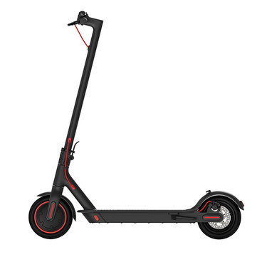 [EU Direct] Original Xiaomi Mijia Electric Scooter Pro EU Version 300W Folding Electric Scooter 45km Mileage 25km/h Max. Speed Double Brake System Multi-function Control Panel
