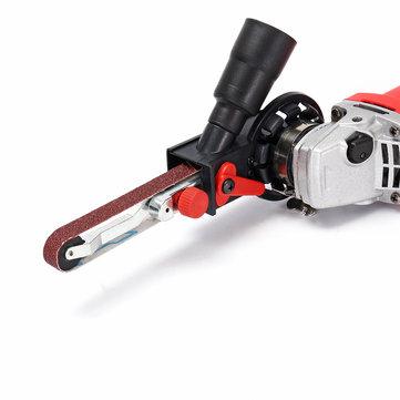 MOD16 Sander Sanding Belt Adapter For Electric Angle Grinder Abrasive Belt Cutting Grinding