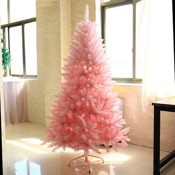 Buy 1.5M/1.8M Christmas Tree Pink Festival Decoration Home Ornament Special with Litecoins with Free Shipping on Gipsybee.com