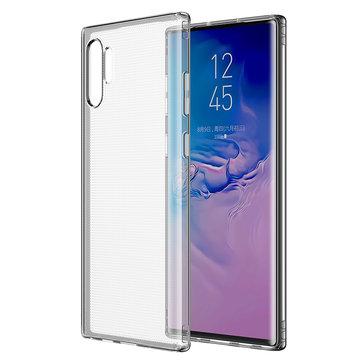 Baseus שקוף שקוף כרית אוויר עמיד בפני זעזועים Soft TPU נרתיק מגן ל Samsung Galaxy Note 10 Plus / Note 10+ 5G