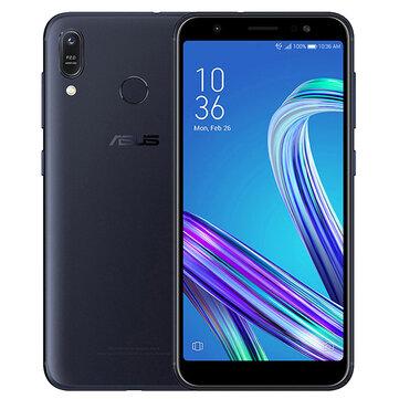 ASUS ZenFone Max (M1) ZB555KL Global Version 5.5 אינץ 'HD + 4000mAh אנדרואיד 8 מצלמות 13MP + 5MP 3GB RAM 32GB ROM Snapdragon 430 Octa Core 1.4GHz 4G Smartphone Smartphone