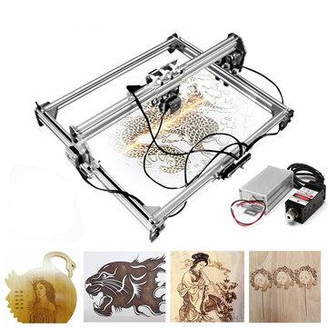 50×65cm Engraving Area 3000MW Laser Engraving Machine DIY Kit Desktop Laser Cutting