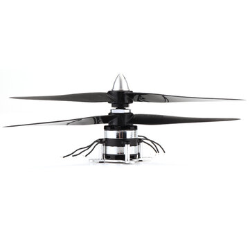 DZP30 Contra-rotating 1500KV Dual Brushless Motor with Dual 3 Blade Propellers 32g for Fixed Wing Plane RC Airplane Aircraft