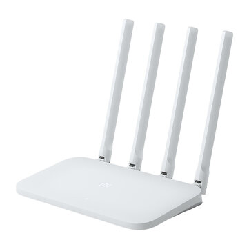 $16.69 for Xiaomi Mi 4C Wireless Router 2.4GHz 300Mbps Four 5dBi Antennas Networking Wireless WIFI Router
