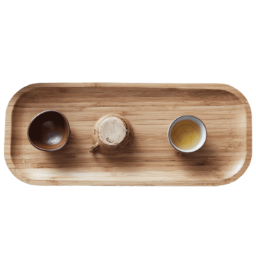 CHENGSHE Bamboo Tea Tray Mat Kung Fu Tea Making Tools from xiaomi youpin