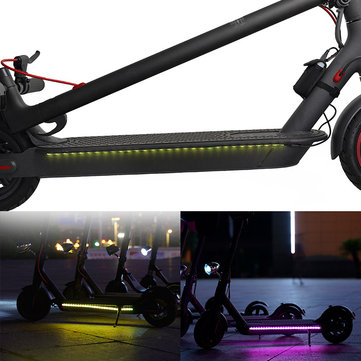 Rechargeable Light Belt For Xiaomi M365/Pro Electric Scooter Colorful Lamp Belt Night Riding Bike Light 2 Modes