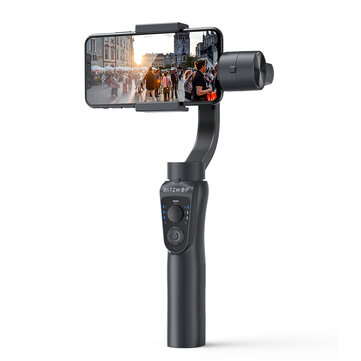 BlitzWolf® BW-BS14 bluetooth 3-Axis Gimbal Stabilizer With Three Adjustable Modes for Mobile Phones