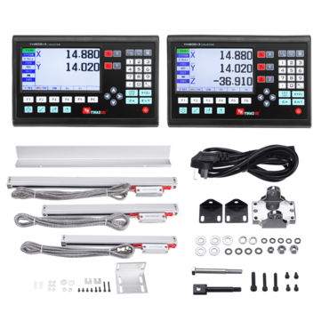 15% OFF for YIHAOGD LCD 2/3 Axis Digital Readout Display DRO 5?m Linear Scale