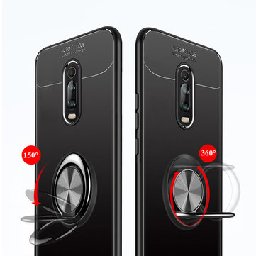 Bakeey Shockproof Magnetic Adsorption Protective Case with Finger Ring Holder for Xiaomi Mi 9T / Xiaomi Mi9T PRO / Xiaomi Redmi K20 / K20 PRO