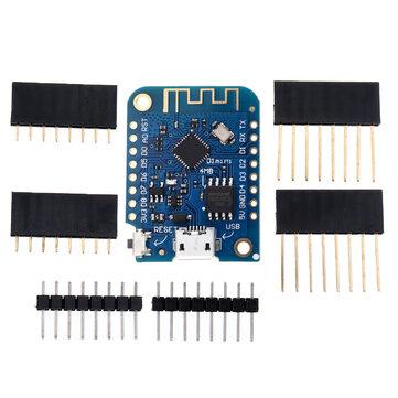 D1 Mini V3.0.0 WIFI Nesnelerin İnterneti Geliştirme Kurulu Tabanlı ESP8266 4MB MicroPython Nodemcu Geekcreit Arduino - resmi Arduino panoları ile çalışan ürünler