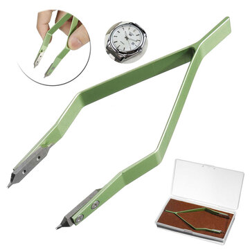 Professional 7825 Stainless Steel Spring Bar Tweezer Watch Repairment  Remover Tool for Rolex Luxury Watches