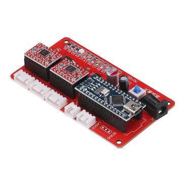 2 एक्सिस जीआरबीएल कंट्रोल पैनल बोर्ड फॉर DIY लेजर एनग्रेविंग मशीन बेनोक्स यूएसबी स्टेपर ड्राइवर ब