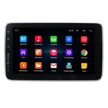 9 Inch 10.1 Inch 1 DIN for Android Car Stereo Audio Adjustable Screen MP5 Player 4 Core 1+16G/2+32G WIFI GPS FM