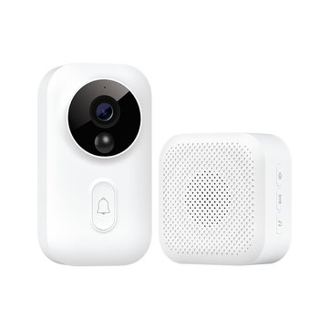 XIAOMI Mijia MJJSQ01-FJ Smart AI Face Identification 720P Video Doorbell Set with...