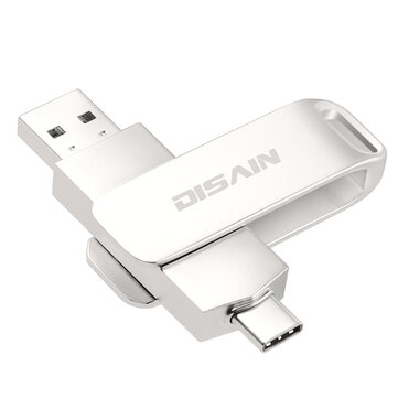 DISAIN Type-C USB-C USB 3.0 32GB 64GB 128GB 256GB OTG Flash Drive For Type-C Smart Phone for Samsung Galaxy Note 10 S10+ Huawei P30 Laptop MacBook