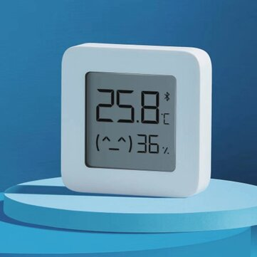 [Newest Version] XIAOMI Mijia Bluetooth Thermometer 2 Wireless Smart Electric Digital Hygrometer Thermometer 1Pcs Work with Mijia APP