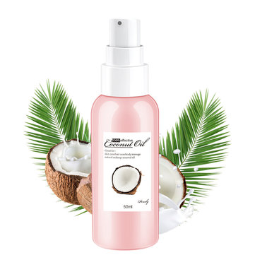 50ml Natural Organic Coconut Oil Body Face Makeup Remover Massage Relaxation Oil