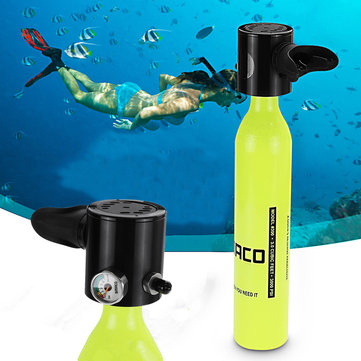 20% for 500ML Mini Air Tank Cylinder Underwater Oxygen Tank